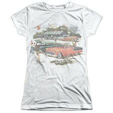 CHEVY WASHED OUT Licensed Front Print Women's Junior Tee Shirt SM-2XL