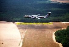 USAF C-141 Starlifter Aircraft Photo Military Color Air Force C 141 Camouflage