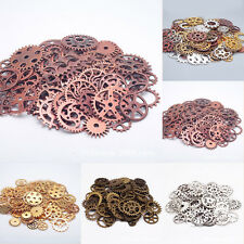 100g/Bag Steampunk OLD Vintage Watch Parts Gears Cogs Wheels Pieces Steam Punk