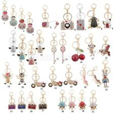 Lovely Bag Pendant Rhinestone Crystal Key Ring Chain Special Birthday Party Gift
