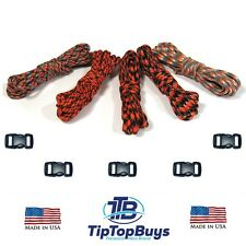 Paracord Hero 550lb Paracord Flamethrower Combo DIY Crafting Kits w/5 Buckle