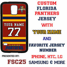 Custom FLORIDA PANTHERS Hockey Case Cover for Samsung s6 edge s5 s4 s3 Note 5 4
