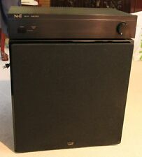 High End NHT SW2P Subwoofer with matching MA1A amplifier