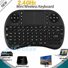 For PC Android TV Mini Wireless Keyboard 2.4G with Touchpad Handheld Keyboard P6