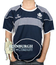 SCOTLAND RUGBY SHIRT - SHORT SLEEVE CREW NECK - NAVY (HOME) - SIZE OPTIONS!