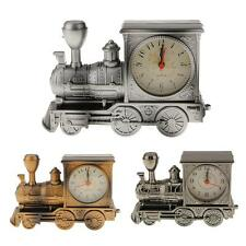 Classical Design Fashion Home Antique Style locomotive Mini Train Alarm Clock