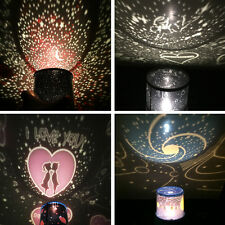 Beauty Romantic LED Starry Night Sky Projector Lamp Cosmos Master Sky Fairy Gift