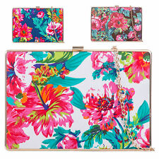 Ladies Floral Box Clutch Bag Evening Bag Flower Party Bag Wedding Handbag K902