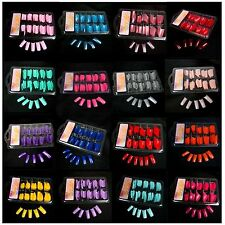 New False Acrylic PVC French 100 PCS  Nail Art Gel nail tips Salon 10 Sizes