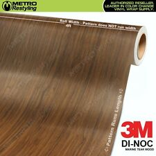 3M DI-NOC MARINE TEAK WOOD Grain Vinyl Sheet Wrap Film Sticker Roll Adhesive