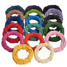 5M Multicolor Real Leather Rope String Cord Necklace Jewelry Making Craft Hot