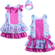 Infant Baby Girl Dress Flower Princess Birthday Wedding Party Pageant Tutu Skirt
