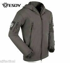 Tactical Weatherproof Jackets Hunting Fishing Camping Work Outdoor
