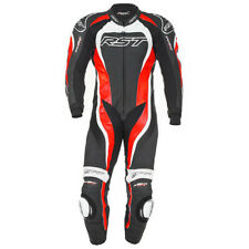 RST Tractech Evo 2 One Piece Motorcycle Race Suit - Flo Red