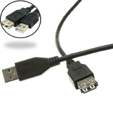 0.5m 1m 1.5M 2m 3M 5 Metre Meter USB 2.0 A Male to A Female Extension Cable Lead