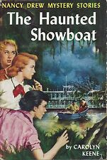 Keene, Carolyn. The Haunted Showboat No. 35 of the Nancy Drew Mystery Stories.