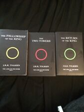 J.R.R. Tolkien The Lord Of The Rings Trilogy