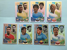 MATCH ATTAX 100 CLUB HUNDRED INTERNATIONAL MASTER MESSI PELE WORLD CUP 2010 MINT