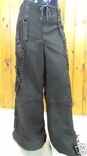 Tripp NYC Pants Shorts Black S XL 2XL 3XL Bondage Chains Gothic Rock AF7398M