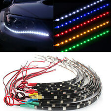 Waterproof  2PC 12 LEDs 30cm 5050 SMD LED Strip Light Flexible 12V Car Decor CHI