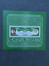Tuvalu - Royal Wedding 1981 - $1.50 Souvenir Sheet MNH