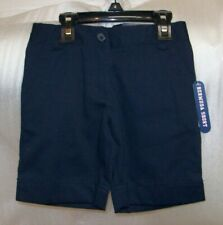 GIRLS IZOD BERMUDA SCHOOL UNIFORM SHORTS MULTIPLE COLORS AND SIZES NEW WITH TAG