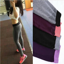 Womens Leggings Wear Gym Fitness New Compression Yoga Pants Workout Trousers
