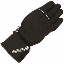 Buffalo Alaska Textile Motorbike Motorcycle Waterproof Windproof Gloves - Black