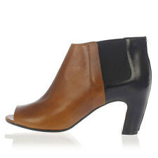 MARTIN MARGIELA MM22 Woman Leather Open Toe Ankle Boots Made in Italy