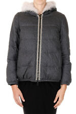 BRUNELLO CUCINELLI Woman Reversible Down Jacket Made in Italy