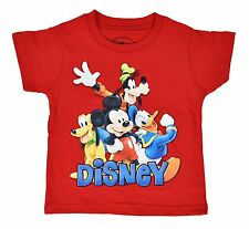 Mickey Mouse Clubhouse and Pals Toddler Baby Boys T-Shirt Red