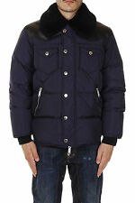 DSQUARED2 Dsquared² Men Puffer Padded coat Real Down With Real Fur collar NWT