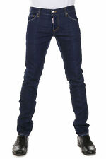 DSQUARED2 Dsquared² Men Jeans Denim in Cotton SLIM JEAN Pants Made in Italy NWT