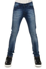 L(!)W BRAND Men Gray Stretch Denim Jeans Made in Italy New with Tag