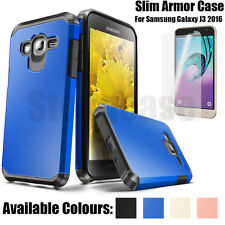 For Samsung Galaxy J3 2016 Shockproof Protective Rubber Hard Armor Case Cover