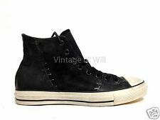 Converse John Varvatos M 10 11.5 STAPLES High Top Black White Suede Leather Shoe