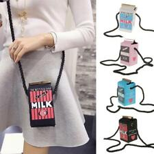 Fashion Ladies Cute Mini Milk box bag Little Box Shoulder Handbag