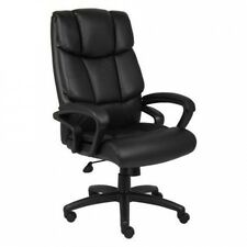Boss NTR Executive Top Grain Leather Chair. Shipping Included