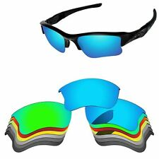 Polarized Replacement Lenses For-Oakley Flak Jacket XLJ Sunglass Multi - Options