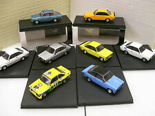 1/43 Trofeu Ford Escort MK2 Collection RS Mexico Harrier RS1800 TR1004 TR1005 TR