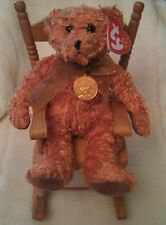 TY Beanie Baby Babies Teddy 100th Anniversary Bear Retired Stuffed Plush Toy