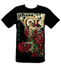 Led Zeppelin fashion rock band graphic design vintage t-shirt tee top Size M L
