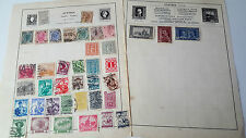 JOB LOT OF EARLY STAMPS ON PAPER - AUSTRIA - RARE USED STAMP POSTAL HISTORY