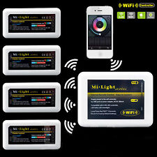 2.4G 4zone RF Remote LED Controller wifi MILIGHT FOR 5PIN RGBW PHONE CONTROL
