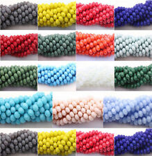 Wholesale Czech Crystal Glass Faceted Rondelle Bead Jewelry Making 4/6/8/10mm