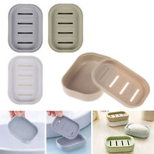Travelling Bathroom Soap Dish Case Holder Storage Container Box Soap Box Plate