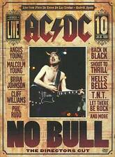 AC/DC - No Bull (DVD, 2009, Director's Cut) BRAND NEW FACTORY SEALED !