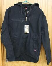 NEW Dri Duck Men's #5046 Waterproof & Stain Resistant STORM Jacket Coat in BLACK
