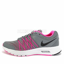 WMNS Nike Air Relentless 6 MSL [843883-002] Running Cool Grey/Black-Pink-White