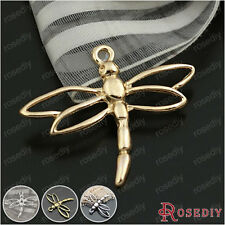 20PCS 33*27MM Alloy Dragonfly Charms Pendants Jewelry Findings Accessories 19777